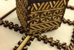 三嶋柄木箱