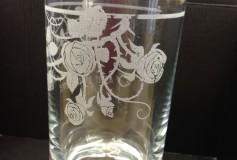 オリジナル グラス彫刻1