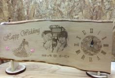 オリジナル時計 Happy Wedding1